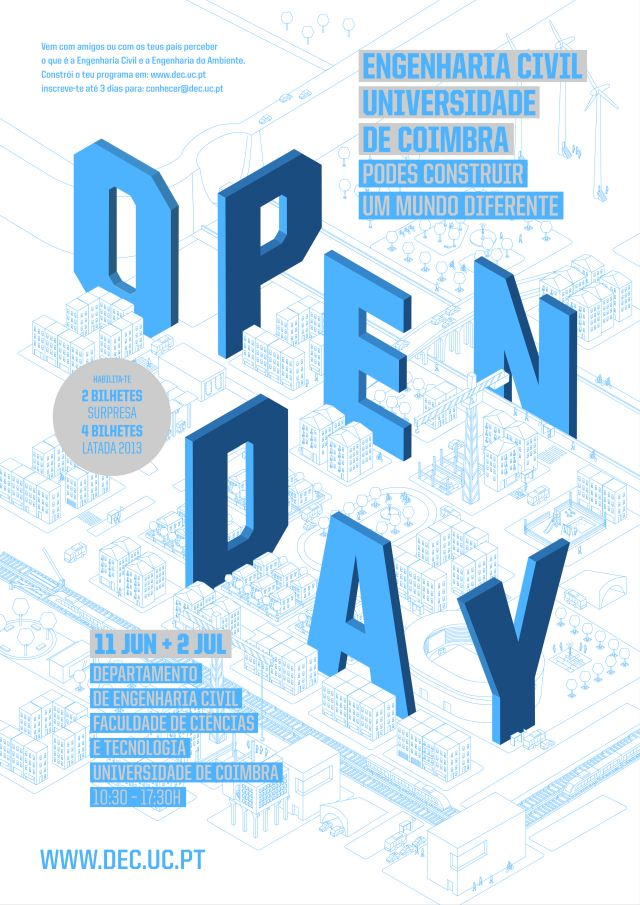 CARTAZ - OPEN DAY
